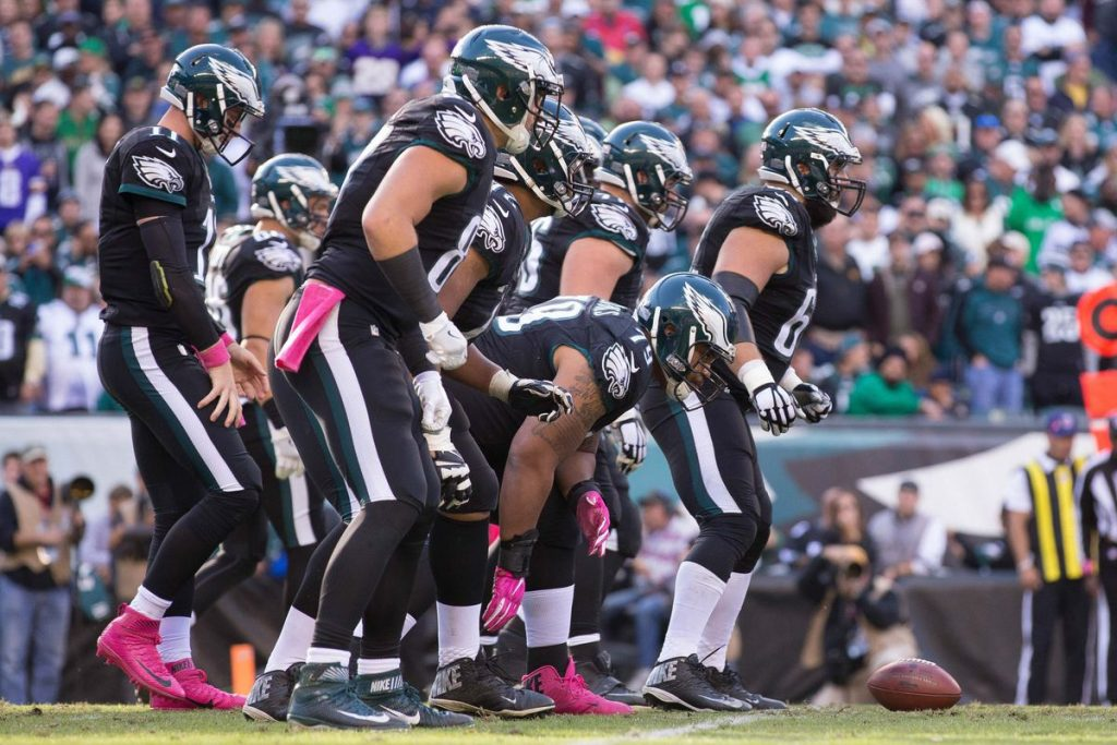 eagles oline
