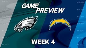 Eagles v Chargers