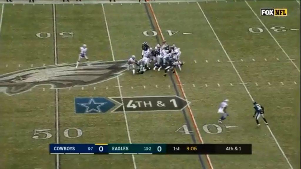 Eagles Stop Dallas on 4th down