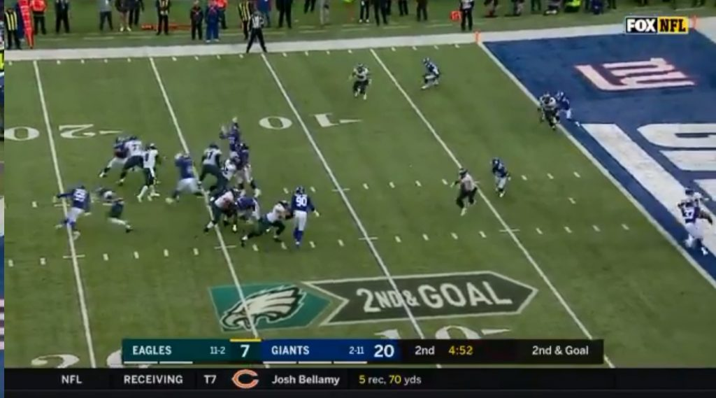 Ertz TD vs Giants