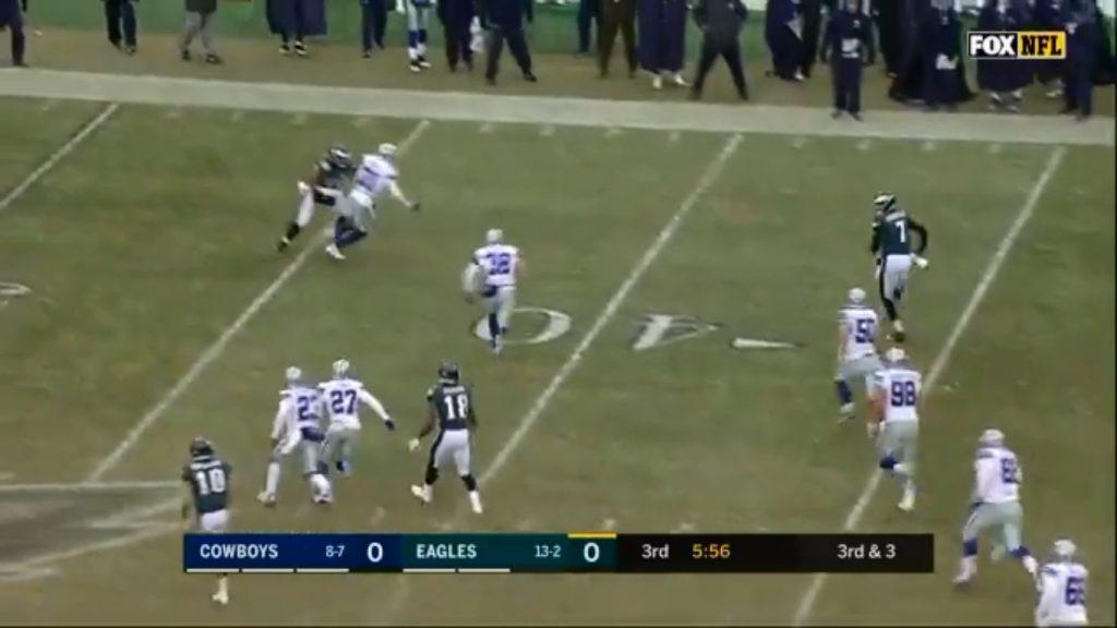 Nate Run vs Cowboys