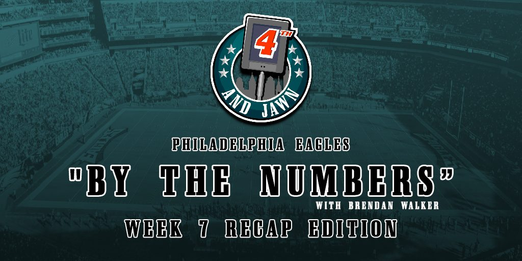 By the Numbers Week 7